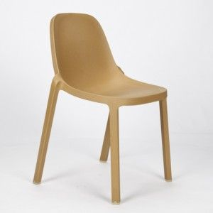 Broom Chair by Philippe Starck for Emeco: 1000 Chairs, Industrial Plastic, Chairs Chairs, Chairs Stools Lounges S, Plastic Plants, Lumber Factories, Plastic Chairs, Broom Chairs, Stackable Plastic