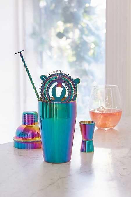 Oil Slick Bar Cocktail Shaker Set