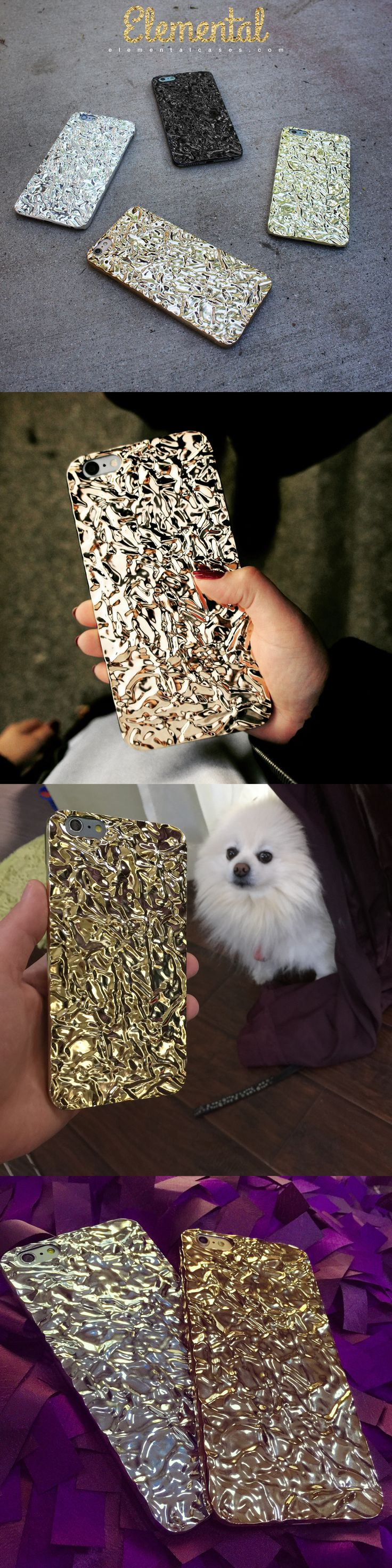 Gold Crystalline Case from Elemental Cases - iPhone 6 & iPhone 6 Plus