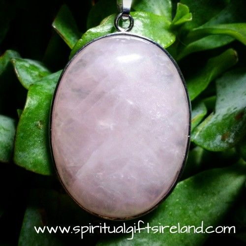 Visit our store at www.spiritualgiftsireland.com  Follow Spiritual Gifts Ireland on www.facebook.com/spiritualgiftsireland www.instagram.com/spiritualgiftsireland www.etsy.com/shop/spiritualgiftireland	 We are also featured on Tumbler  Think marshmallows, candy cane and this gorgeous chunk of rose quartz.  Pink is the hot colour for spring/summer 2016. Far from being too 'girlie' it can pack a powerful punch and looks great on everyone. Dust off those pastels and start rocking the colour of…