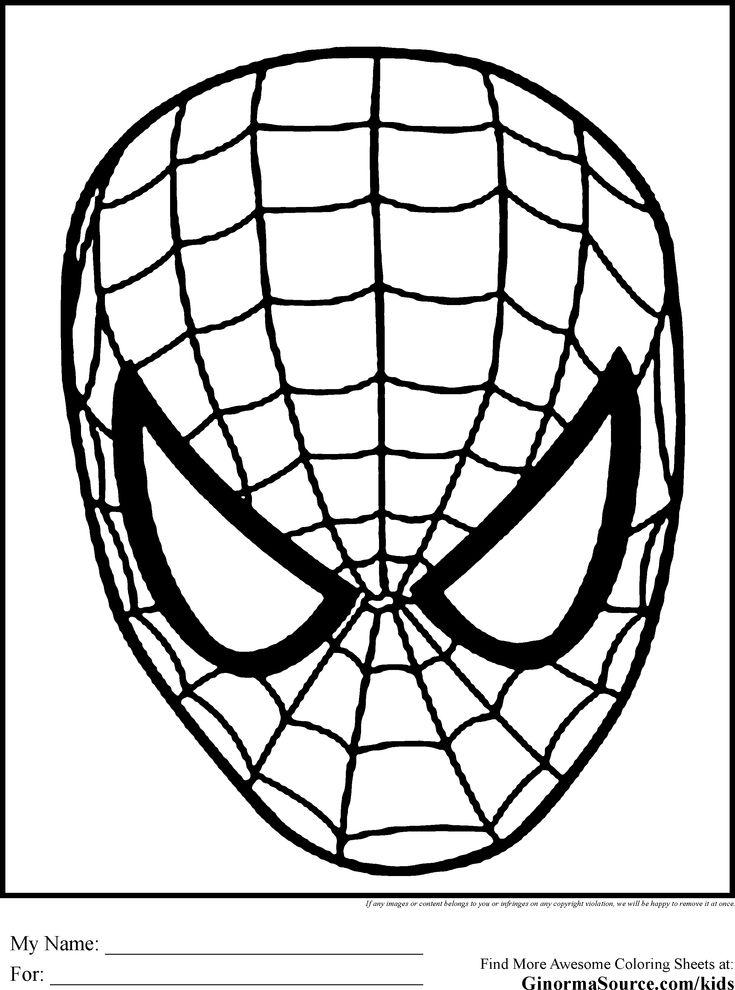 Top 33 Free Printable Spiderman Coloring Pages Online   Spiderman ...