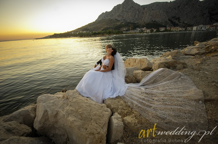 Plener Ślubny w Chorwacji - Omiš    #Croatia #Chorwacja #Omis