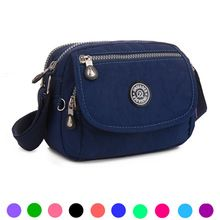 women messenger bags 2015 brand famous ladies crossbody bags for girls mini flap handbag nylon solid casual 10 colors(China (Mainland))