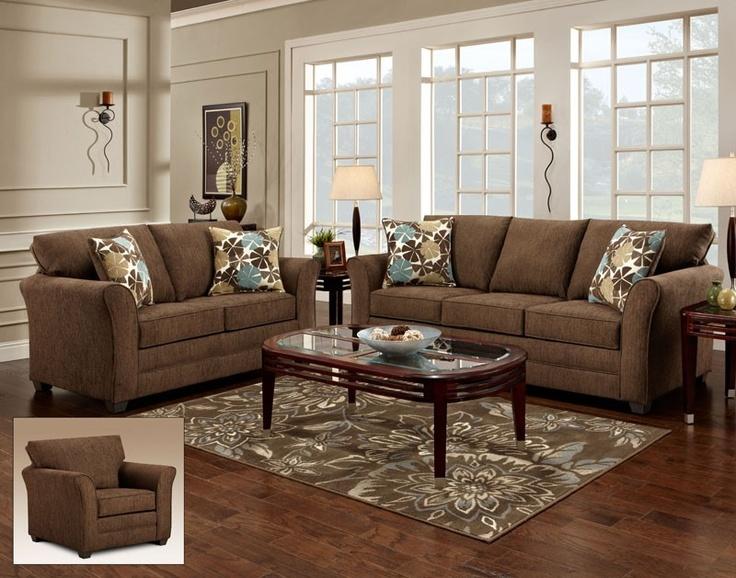 Perfect Carlu0027s Furniture City   Vegas Fudge 2 Piece Package