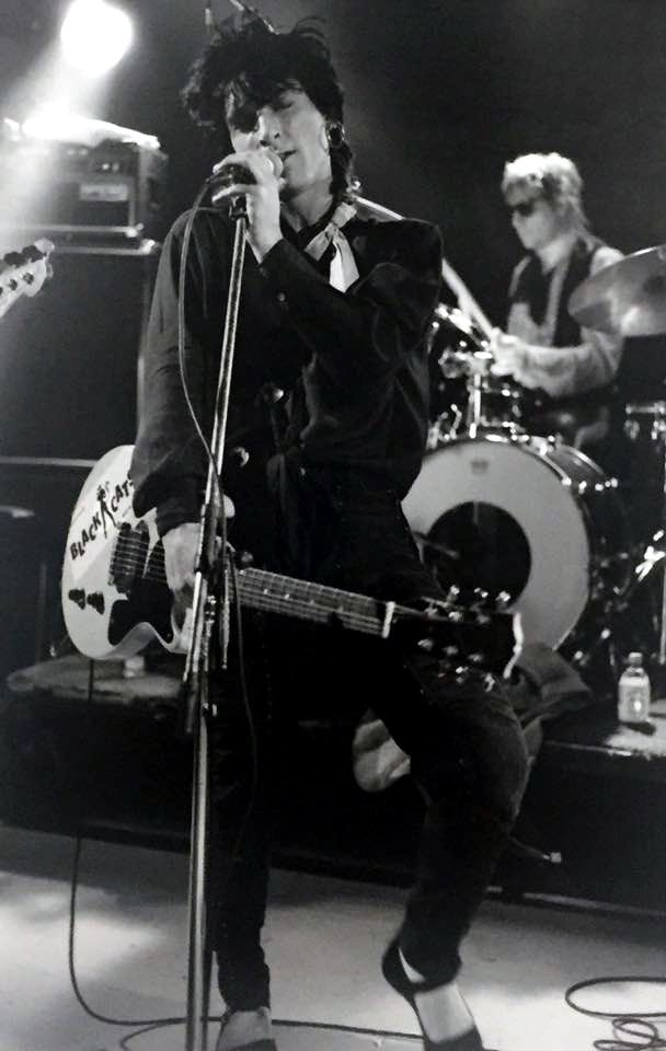 Johnny Thunders at Prince of Wales Hotel, St Kilda Australia Sep. 19, 1986.