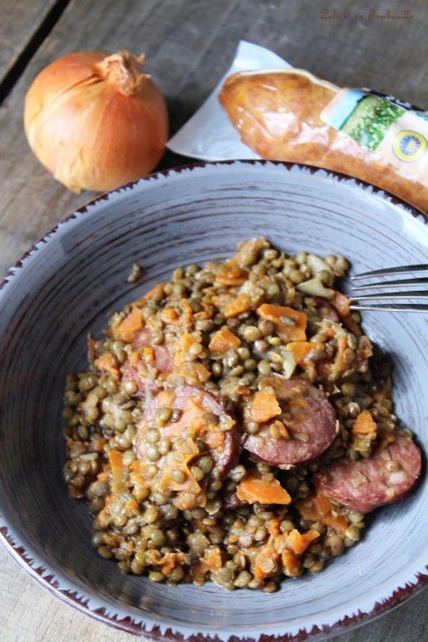 Lentilles à la sauce de morteau (2) | Alimentation ...