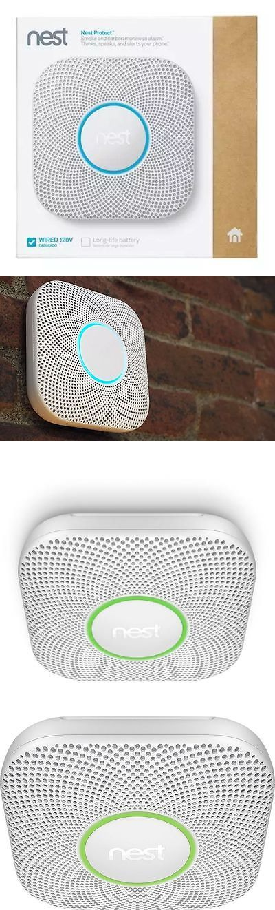 Other Home Automation: 4/$79.99Ea! New Nest Protect 2Nd Gen Wired Smoke Carbon Monoxide Alarm S3003lwes BUY IT NOW ONLY: $100.0