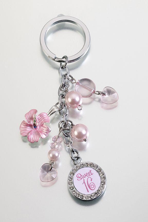 Favors for seet sexteen | sweet 16 keychain sweet 16 pin sweet 16 sash sweet