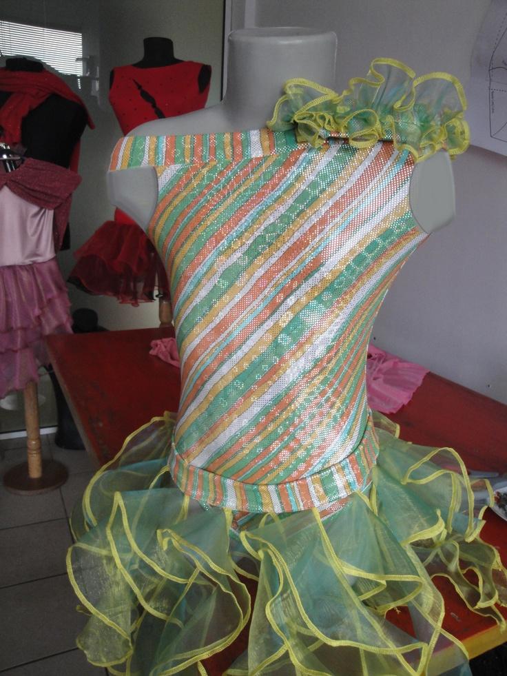 Kids dresses for latin dance