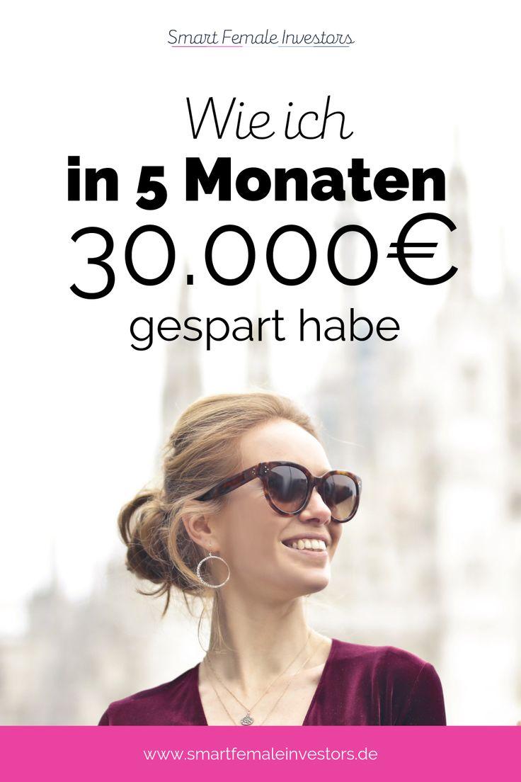 Wie ich in 5 Monaten 30.000€ für die berufliche Auszeit gespart habe