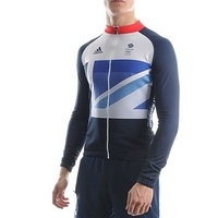 Adidas London 2012 Team GB Cycling Jersey  £80.00    JD Sports    This replica version of the long sleeve cycling jersey which will be worn by Team GB during the London 2012 Olympics. It incorporates the Stella McCartney designed flag and Team GB