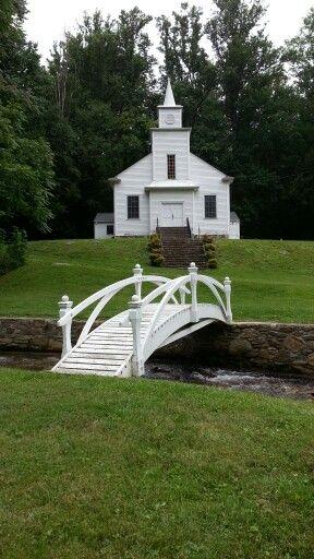 Bear Wallow Church near Lake Lure, North Carolina
