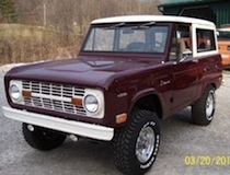 old Ford Broncos (1960-1970