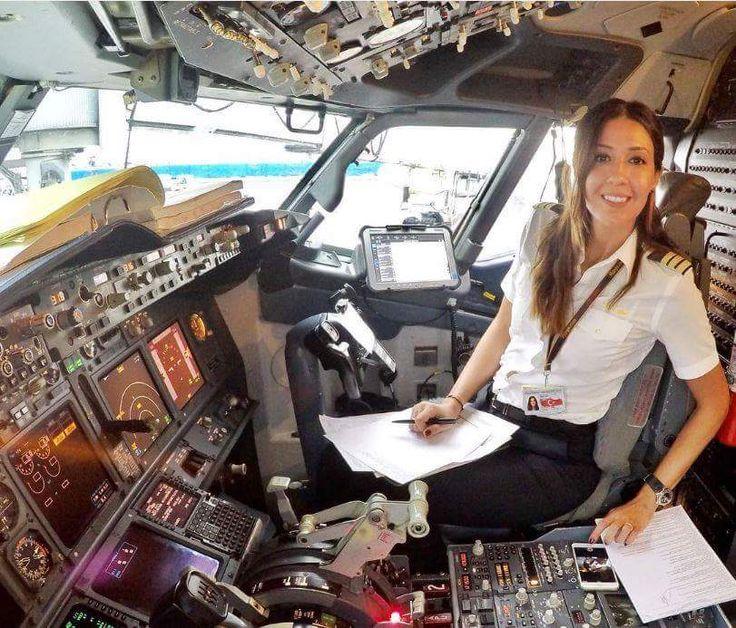 Female Pilot...