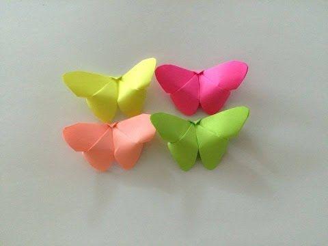 Motyle jak zrobić origami z papieru po polsku - YouTube