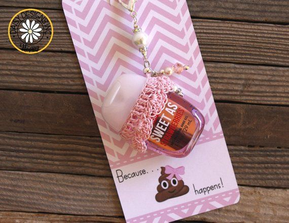 Hand Sanitizer Favor Label Baby Girl Hand Sanitizer Favor