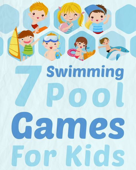 Keep the kids (or adults ;)) entertained with these 7 Swimming Pool Games via @swimuniversity