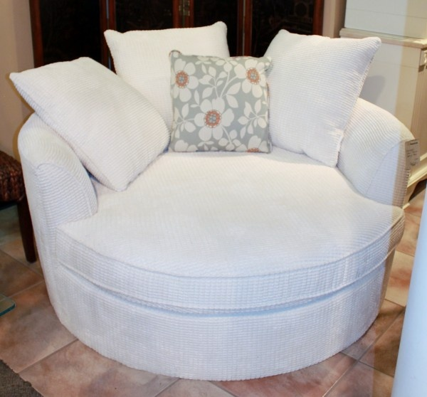 Oversized Round Nesting Chair Home Is Where Your Heart