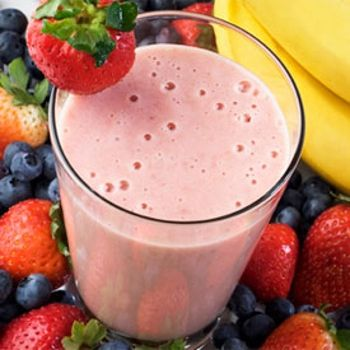 Non-fat Low Calorie Strawberry Banana Smoothie Recipe - You won't believe this