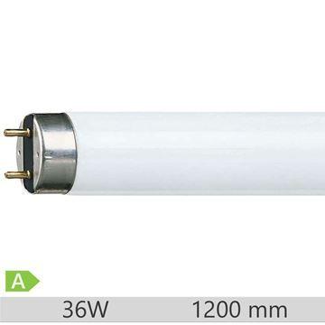 Tub fluorescent T8 Philips Master TL-D Super 80 36W, G13, lumina calda, 2700k