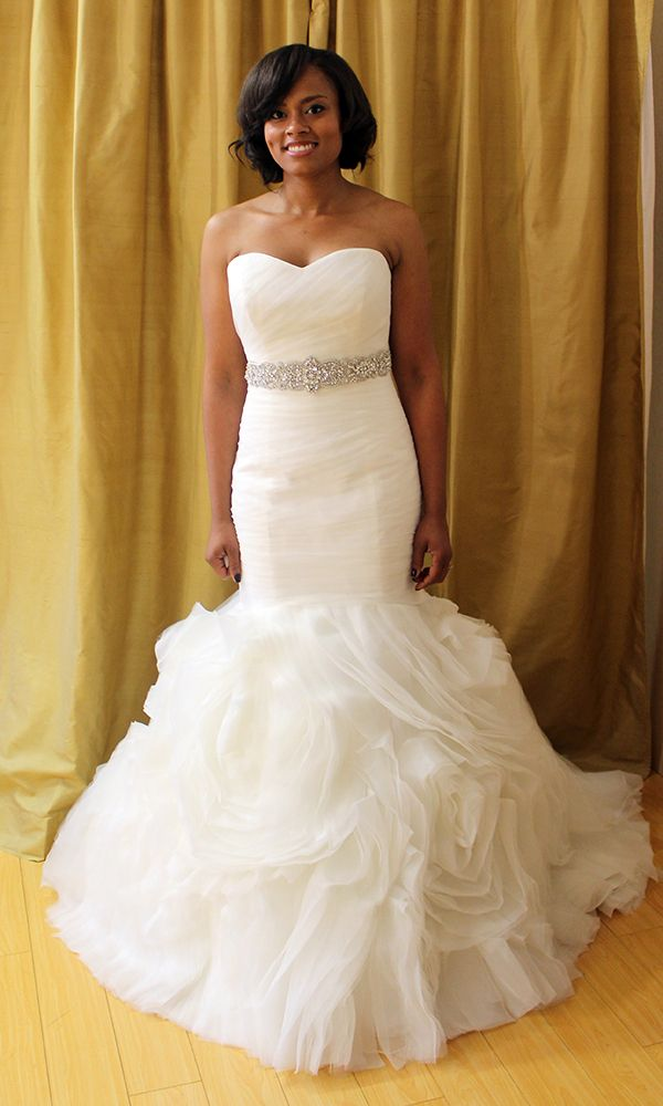 Nice Katies something new a Maggie Sottero uPrimrose u gown priced at with a