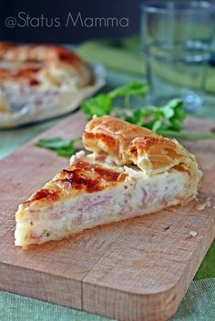 Soft tasty quiche | Torta salata morbida gustosa | Status mamma