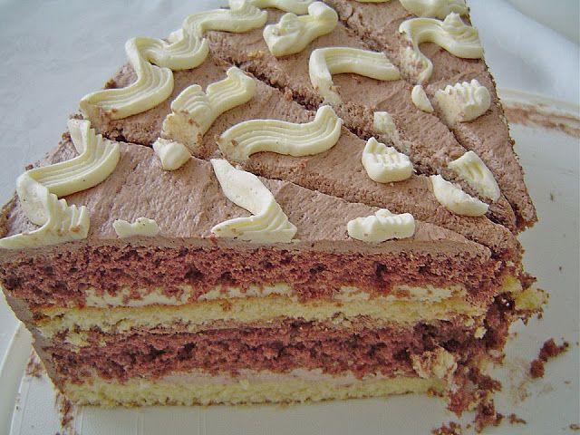 Geheime Rezepte: Alte schlesische Pudding - Buttercreme - Torte (28-30 cm Durchmesser)