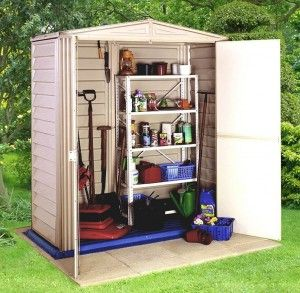 15 BEST SHEDS width of 1.60 supported by a depth of 0.81m5x3 Sheds - Duramax Little Hut Plastic 5x3 Sheds