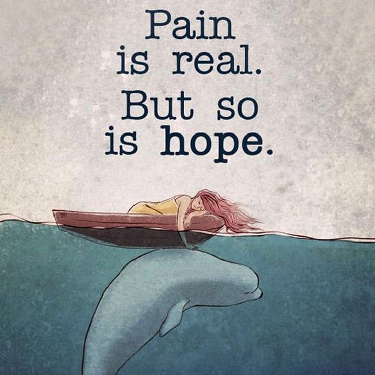 Truth, and more powerful than pain.