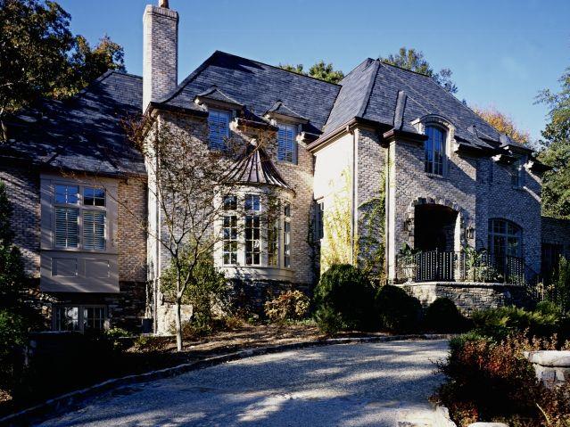 French Chateau style homeBricks Stones, House Design, Home Exterior, Chateau Style, French Chateau, French House, Modern House, Chateau Bricks, House Exterior
