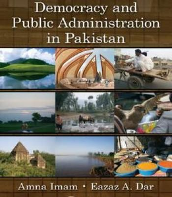 Democracy And Public Administration In Pakistan PDF