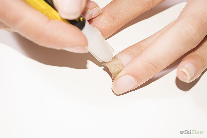 how to fix a broken nail naturally