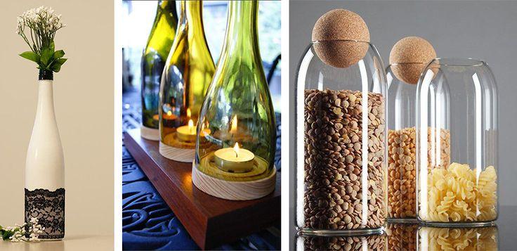 Cele mai ingenioase 26 idei pentru reciclarea sticlelor de vin, astfel incat sa obtii decoratiuni superbe pentru casa si gradina. Vezi articolul...