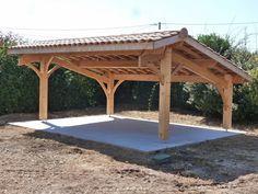 Abris de jardin bois / Carport voitures bois / Garage Bois / Auvent voiture bois