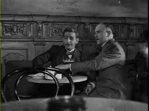 """Ausschnitt aus der Verfilmung des Romans """"Der Untertan"""" von Heinrich Mann. (1951)"""