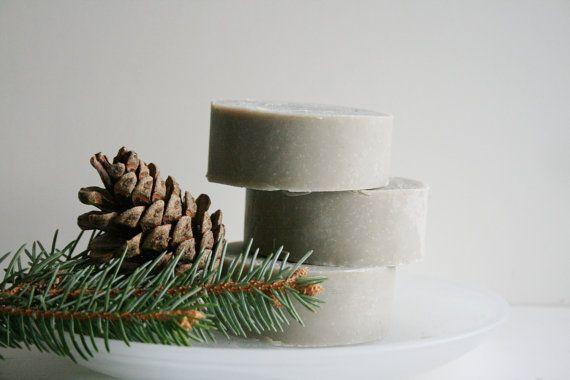 Fresh Pine Handmade Shaving Soap Bar  by ElegantRoseBoutique, $5.00