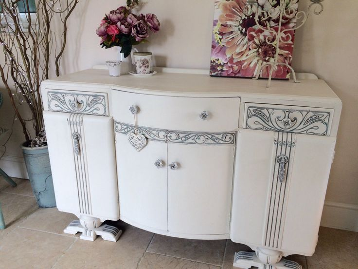 Best Shabby Chic Furniture Images On Pinterest Shabby Chic - 6 beautiful diy shabby chic dressers and sideboards
