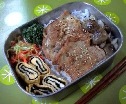 豚薄切り肉で、15分で作るお弁当:その2 豚しょうが焼き弁当 [家族のお弁当レシピ] All About