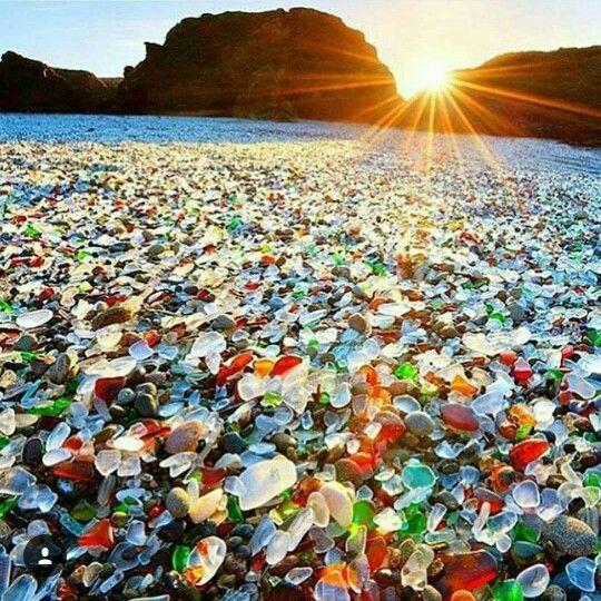 Glass Beach, Fort Bragg California.