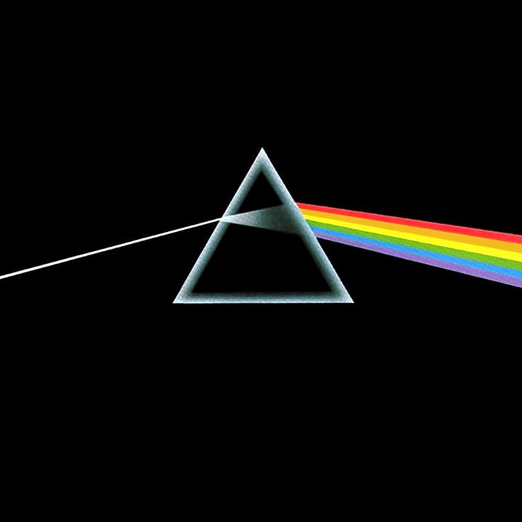 "Pink Floyd's ""Dark Side of the Moon"" album artwork is the icing on the cake. An absolute masterpiece of musicianship with a cover so perfectly iconic."