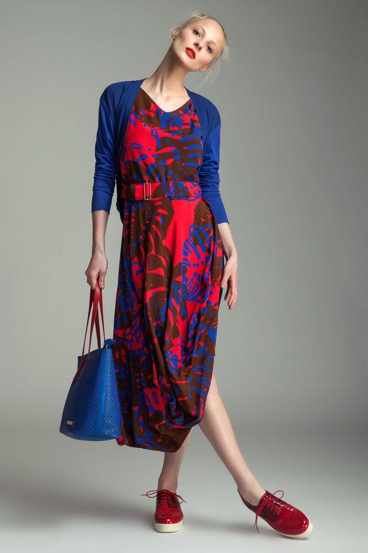 Dress Vivienne Westwood, 17 990 CZK Blouse Ilaria Nistri, 8890 CZK Handbag Vivienne Westwood, 9290 CZK