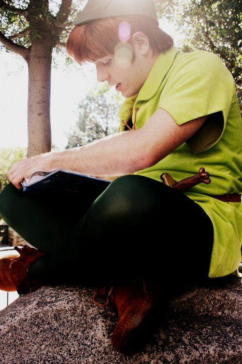 Peter Pan, you gorgeous human being, you.