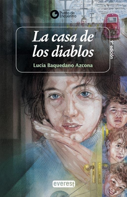 """""""La casa de los diablos"""" de Lucía Baquedano. Ficha elaborada por Miriam Sánchez."""