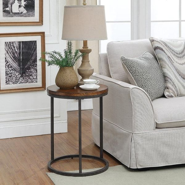 Online Shopping Bedding Furniture Electronics Jewelry Clothing More Furniture Accent Table Sofa End Tables #round #end #table #for #living #room
