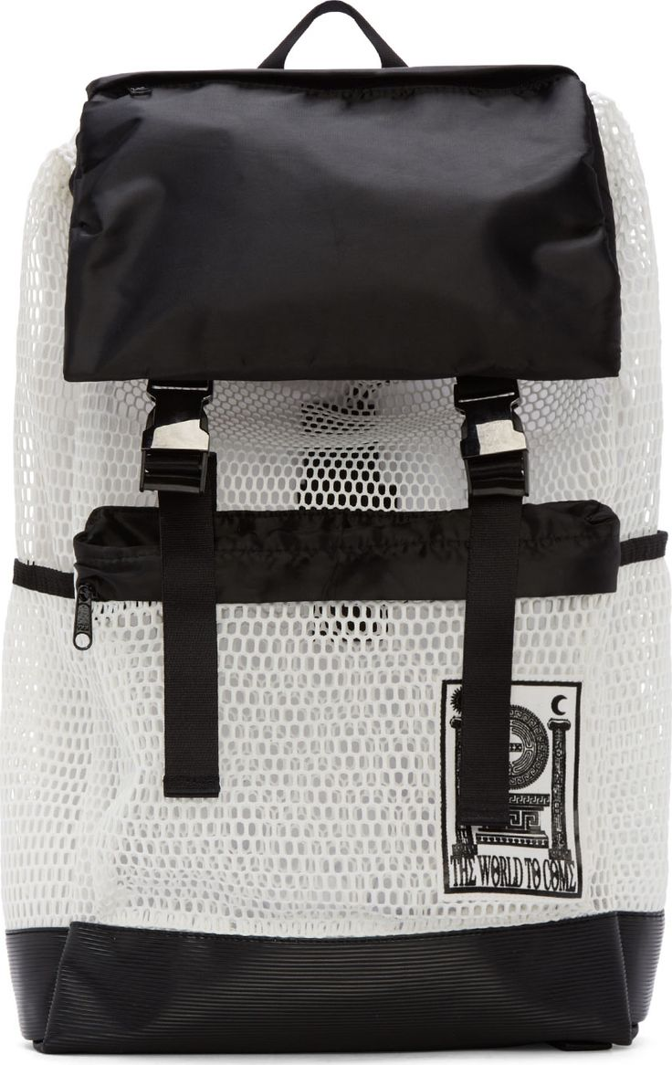 KTZ White Mesh Pluto Backpack