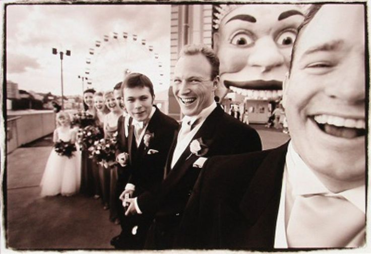 A great wedding photo taken at Luna Park (by G.Monro) Saved as a photography design principal example