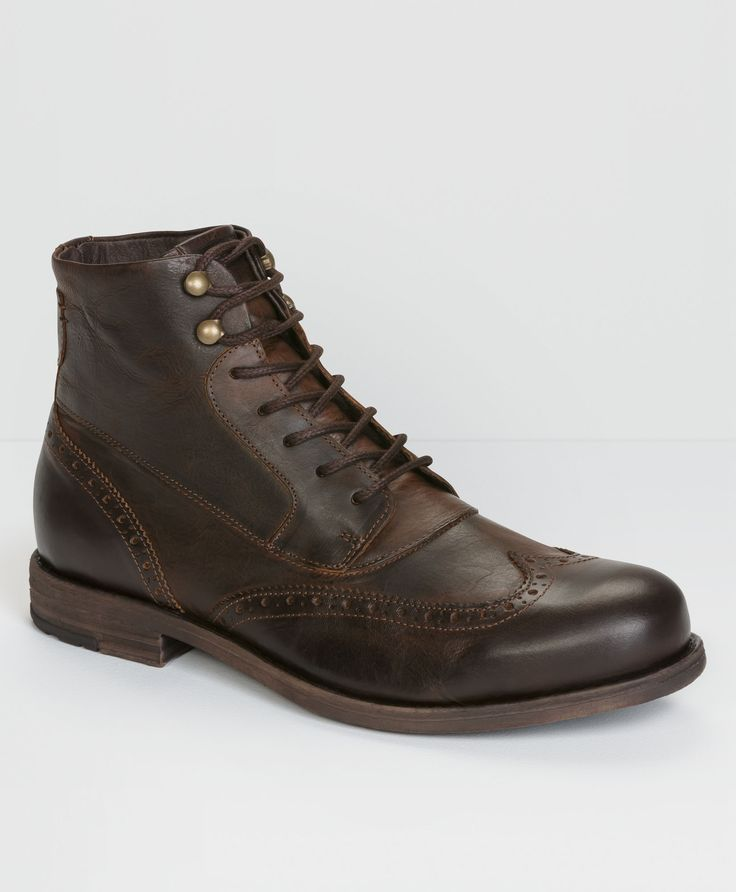 Levi's Brogue Lace Up Boots