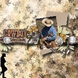 Free Scrapbooking Software Templates Embellishments Backgrounds--This Western FRee Kit is great!!!