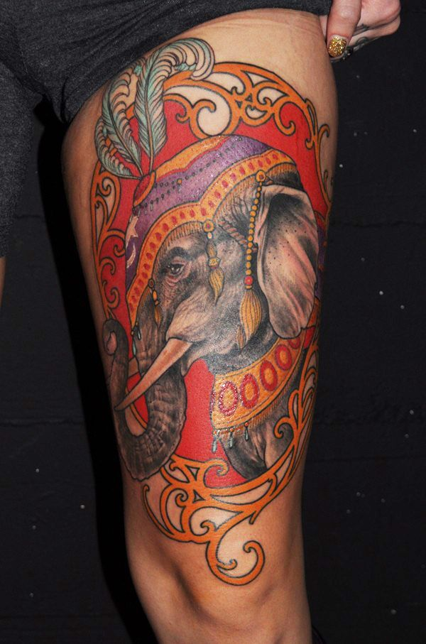 250 Most Powerful Elephant Tattoos And Their Meanings cool