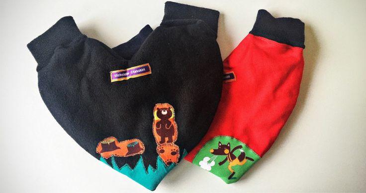Pärchen-Handschuhe für kalte Winterspaziergänge